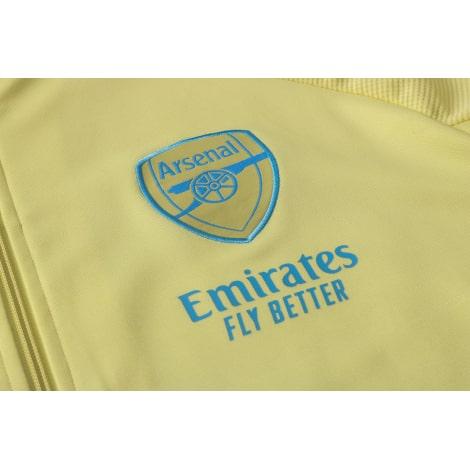 Желтый спортивный костюм Арсенал 2021-2022 герб клуба