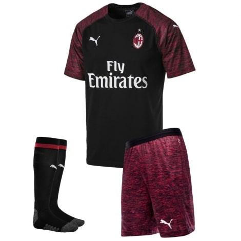 Детская третья футбольная форма Милана 2018-2019
