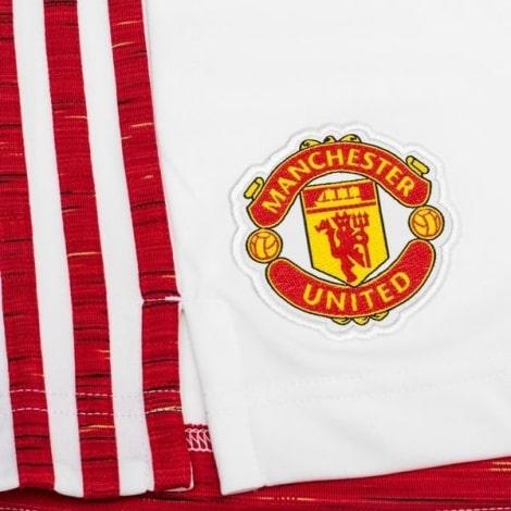 Гостевая футбольная форма Манчестер Юнайтед 2017-2018 футболка и шорты