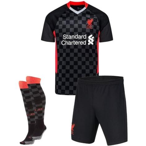 Комплект взрослой третьей формы Ливерпуля 2020-2021 футболка шорыт и гетры