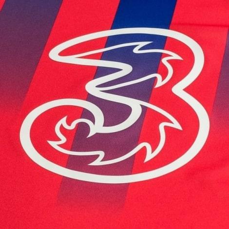 Комплект детской третьей формы Челси Тимо Вернер 2020-2021 футболка титульный спонсор