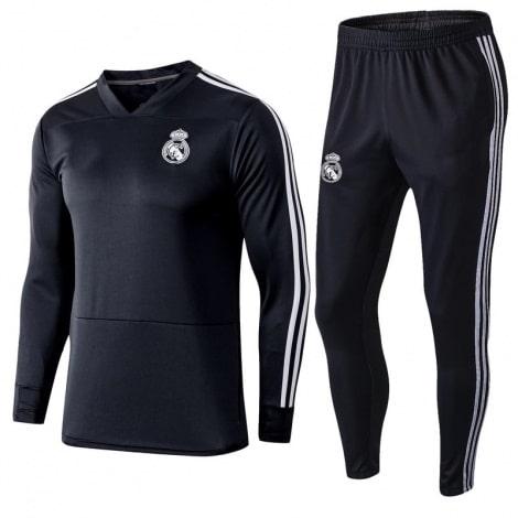 Взрослый тренировочный костюм Реал Мадрид 2018-2019
