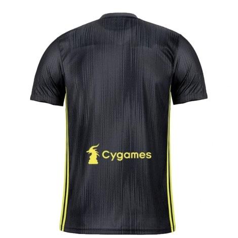 Третья игровая футболка Ювентуса 2018-2019 сзади