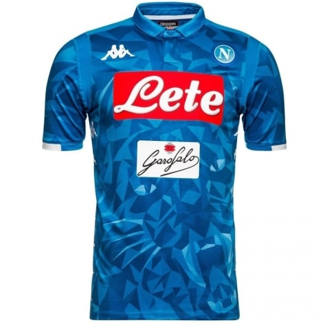 Домашняя игровая футболка Наполи 2018-2019