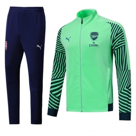 Взрослый сине-зеленый костюм Арсенала 2018-2019