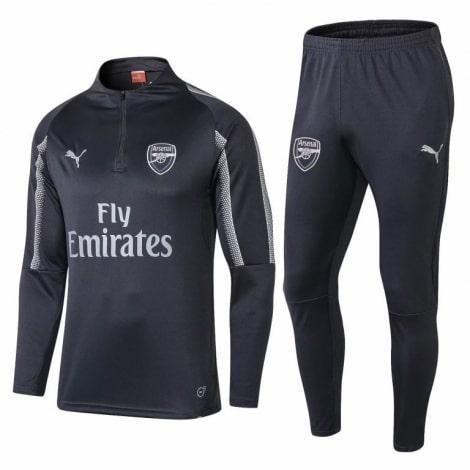 Взрослый черный костюм Арсенала 2018-2019