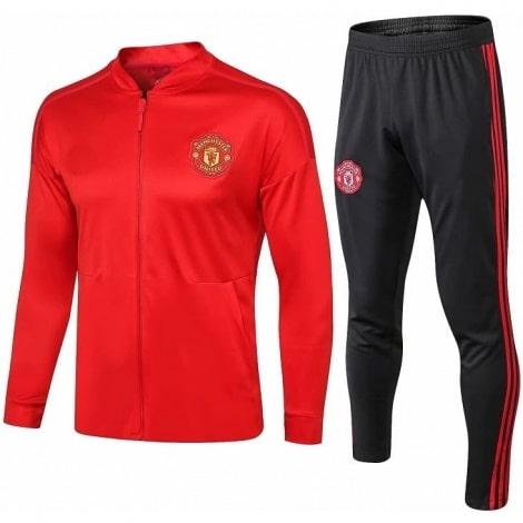 Взрослый красно-черный костюм Ман Юнайтед 2018-2019