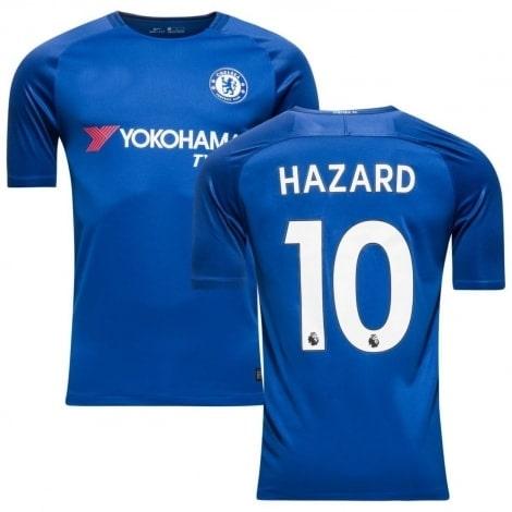 Домашняя игровая футболка Челси 2017-2018 Эден Азар