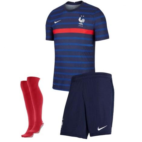 Женская гостевая футболка Франции на ЕВРО 2020-21