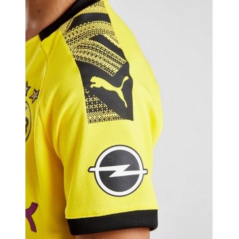Детская домашняя форма Боруссии Торган Азар 2019-2020 футболка рукав