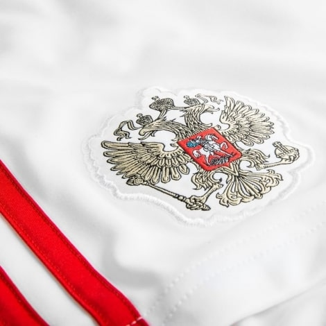 Детская домашняя форма России Головин на ЧМ 2018 шорты герб