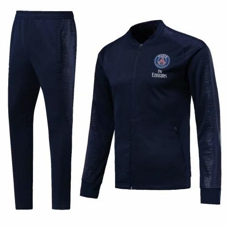 Взрослый синий костюм ПСЖ 18-19
