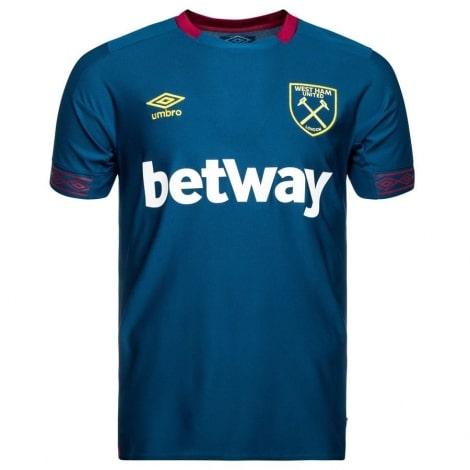 Гостевая игровая футболка Вест Хэм 2018-2019