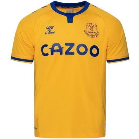 Гостевая игровая футболка Эвертон 2020-2021