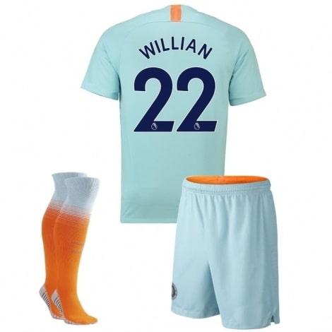 Детская третья футбольная форма Виллиан 2018-2019