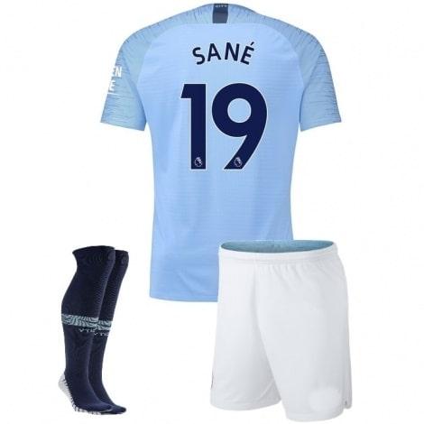 Детская домашняя футбольная форма Лерой Сане 2018-2019