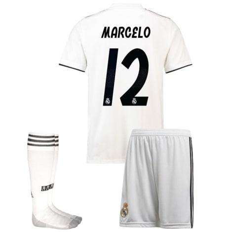 Детская домашняя футбольная форма Марсело 2018-2019