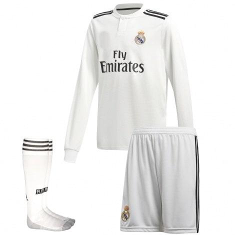 Детская форма Реал Мадрид 18-19 c длинными рукавами
