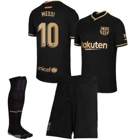 Детская гостевая футбольная форма Месси 2020-2021