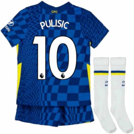 Детская домашняя форма Челси Кристиан Пулишич 2021-2022
