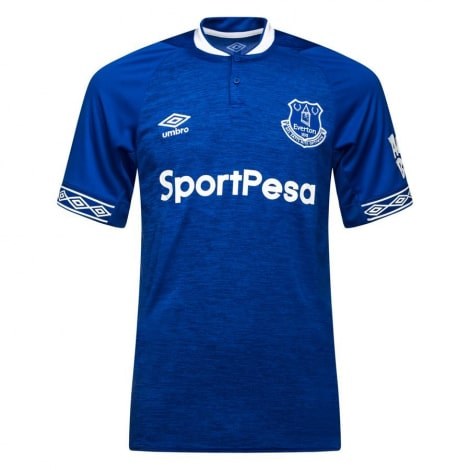 Домашняя игровая футболка Эвертон 2018-2019
