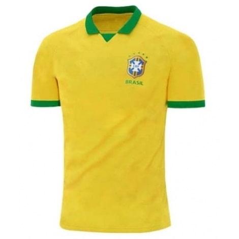 Домашняя игровая футболка сборной Бразилии 2019-2020