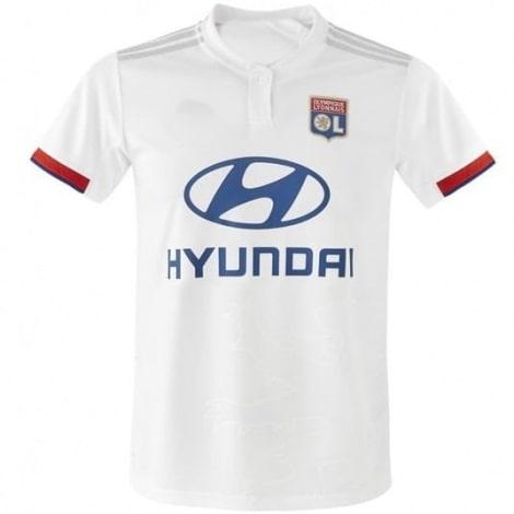 Домашняя игровая футболка Лион 2019-2020
