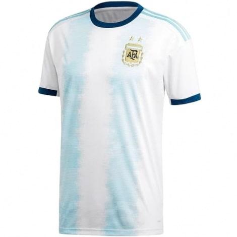 Домашняя игровая футболка сборной Аргентины 2018-2019