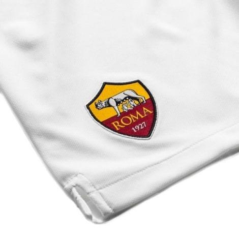 Комплект детской домашней формы Ромы 2019-2020 шорты герб клуба