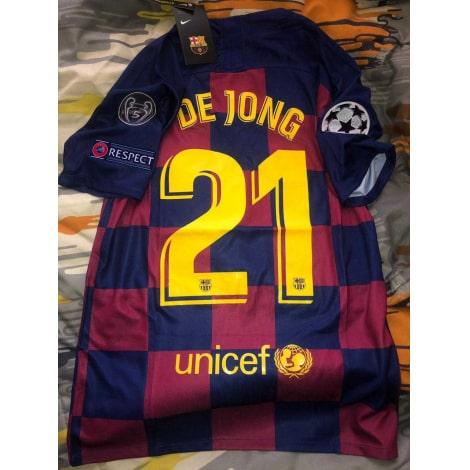 Домашняя футболка Барселоны 2019-2020 Фрэнки Де Йонг сзади