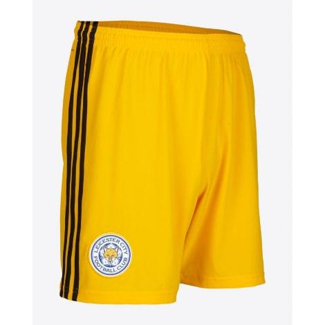 Детская вратарская желтая форма Лестера 19-20 шорты