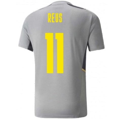 Серая тренировочная футболка Боруссии Д 2021-2022 Ройс
