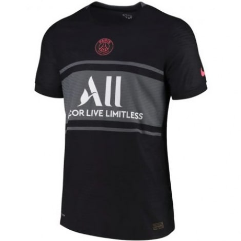 Комплект взрослой третьей формы ПСЖ 2021-2022 футболка