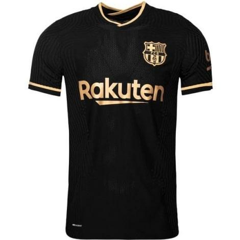 Гостевая аутентичная футболка Барселоны 2020-2021