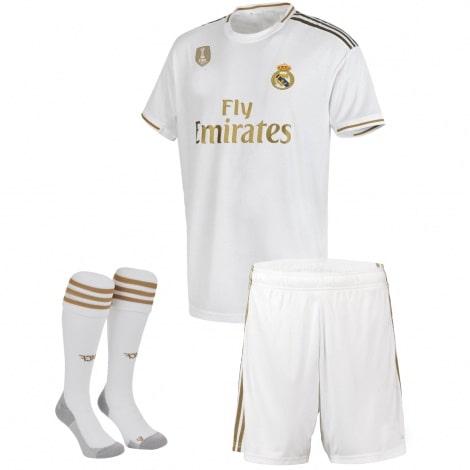 Детский комплект домашней формы Реал Мадрид 2019-2020