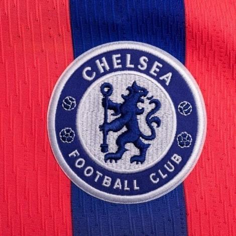 Третья аутентичная футболка Челси 2020-2021 герб клуба