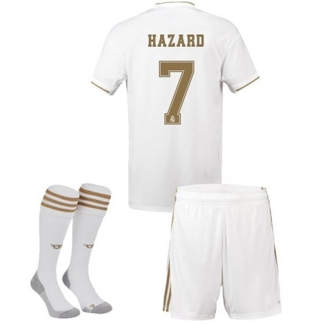 Детская домашняя футбольная форма Эден Азар 2019-2020
