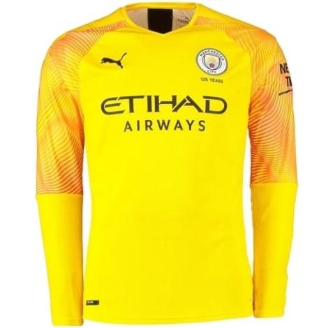 Вратарская гостевая футболка Манчестер Сити 2019-2020