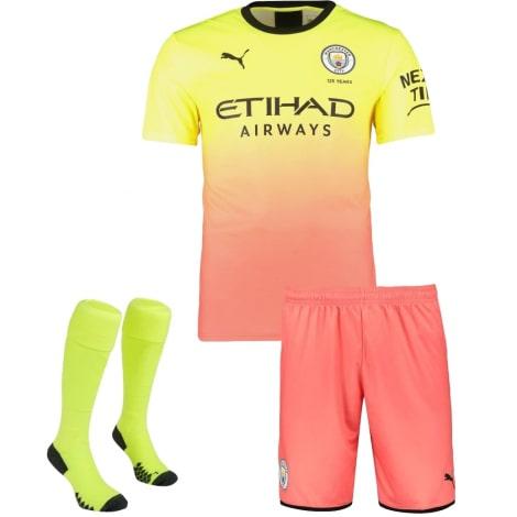Детская третья форма Манчестер Сити 2019-2020