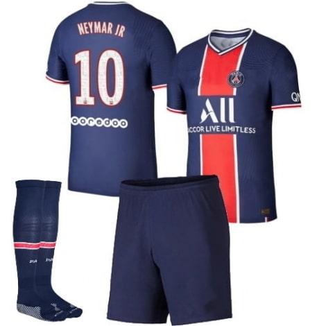 Детская домашняя футбольная форма Неймар 2020-2021