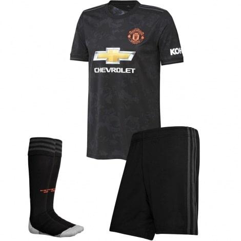Детская третья форма Манчестер Юнайтед 2019-2020 футболка шорыт и гетры