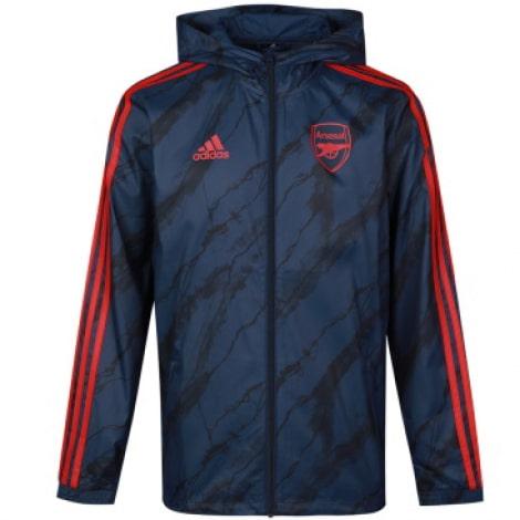 Куртка ветровка с капюшоном Арсенал 2021-2022