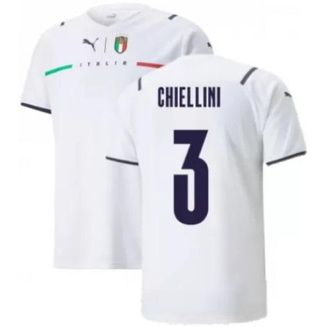 Четвертая футболка Италии Кьеллини ЕВРО 2020-21