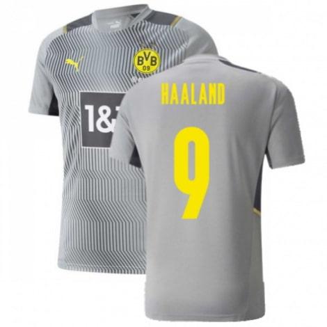 Серая тренировочная футболка Боруссии Д 2021-2022 Холанн
