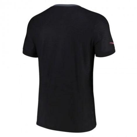 Третья игровая футболка ПСЖ 2021-2022 сзади