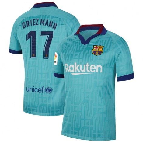 Третья футболка Барселоны 2019-2020 Антуан Гризманн номер 17