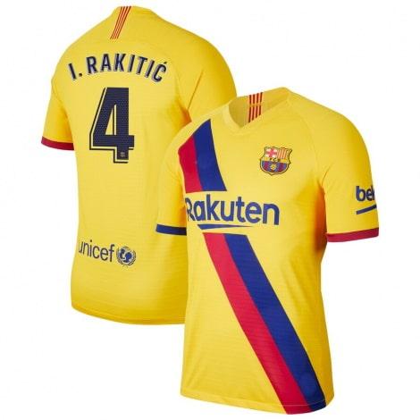 Гостевая футболка Барселоны 2019-2020 Иван Ракитич
