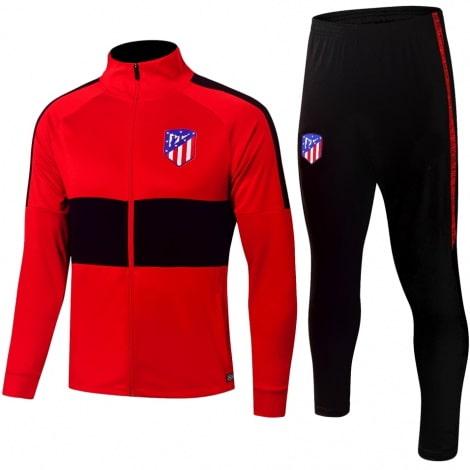 Взрослый черно-красный костюм Атлетико Мадрид 19-20