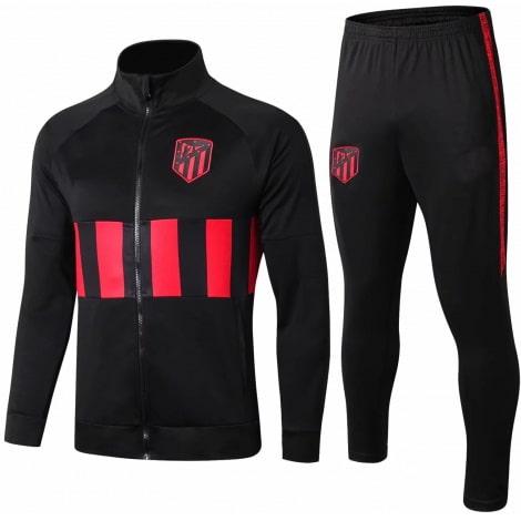 Взрослый черный костюм Атлетико Мадрид 19-20