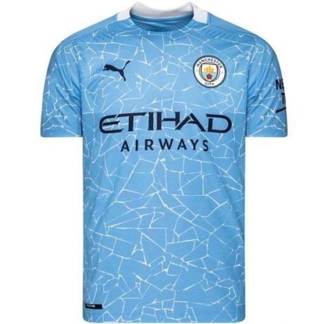 Домашняя аутентичная футболка Манчестер Сити 2020-2021